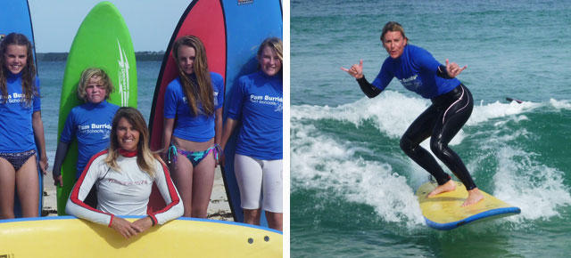 pam burridge surf school